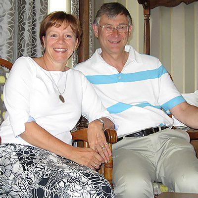 Lynne and David Hammond tour guides Burgundy France