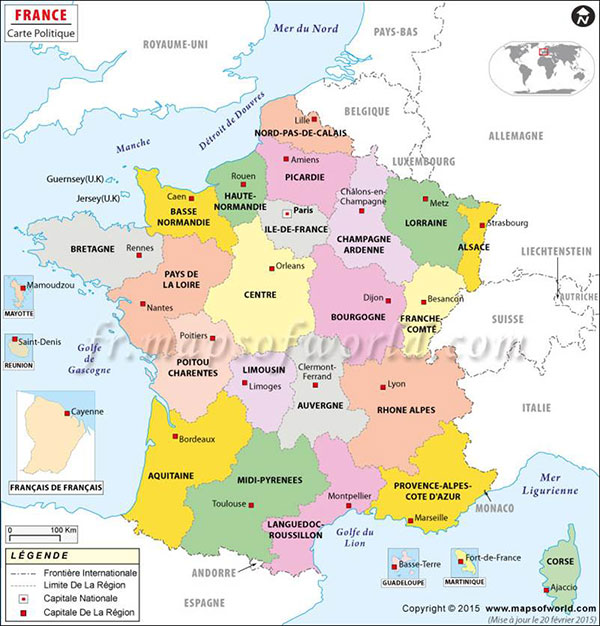 Maps Travel Guide Your Key to Burgundy France